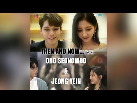 Ong Seongwoo & Jeong Yein 'Incheon Couple finally met each other...'