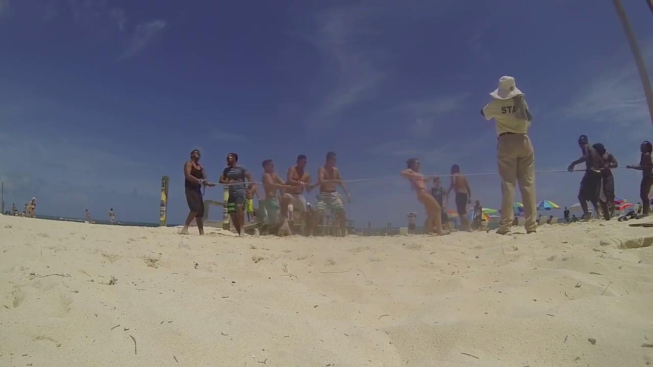Tug Of War Taino Beach Freeport Bahamas Groupon Cruise