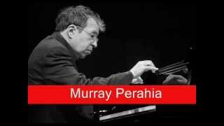 Murray Perahia: J.S. Bach - Partita No.3 in A minor BWV827 VII. Gigue