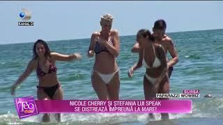 Teo Show (10.07.) - Nicole Cherry si Stefania lui Speak, la mare! Cum au fost surprinse Pa ...