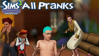 The Sims 3 Generations All Pranks