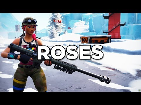 Fortnite Montage - Roses (Juice WRLD,...