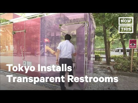 Check Out This Transparent Public Restroom in Tokyo, Japan | NowThis