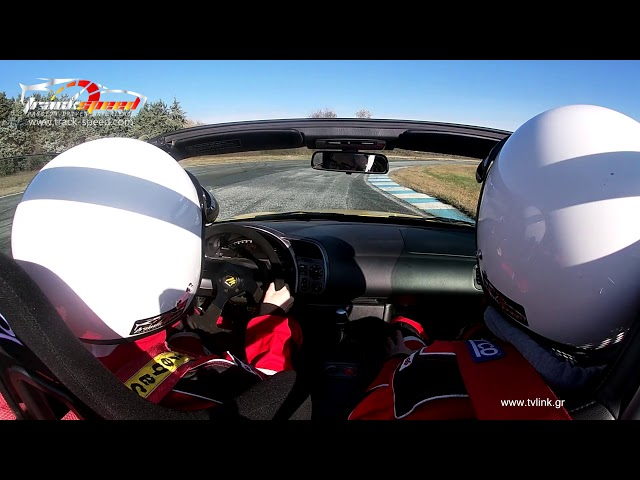 Sharing rides in our Honda S2000, Serres Circuit , Track-speed.com