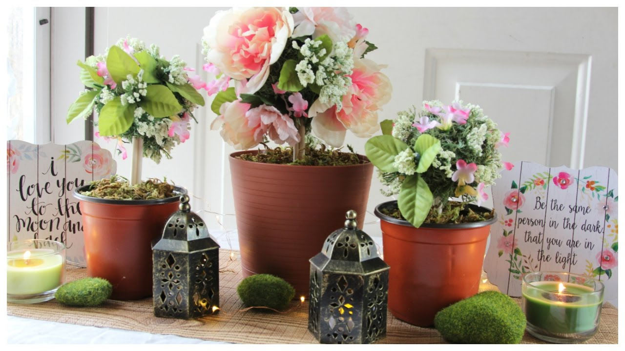 Dollar Tree Fl Topiary Wedding Centerpieces