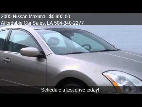 2005 Nissan Maxima for sale in Marrero, LA 70072 at the Affo