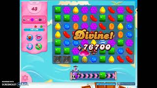 Candy Crush Level 894 Audio Talkthrough, 3 Stars 0 Boosters