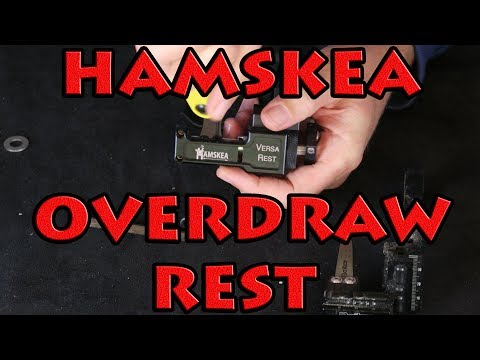 hamskea versa OVER DRAW drop away rest