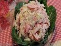Рецепт- салат из креветок с помидорами от videokulinaria ru