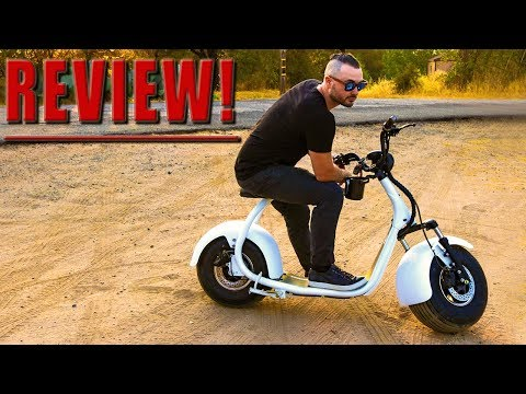 THE HARLEY DAVIDSON OF ELECTRIC SCOOTERS!! Phat Scooter Phatty Sport Review, Ride