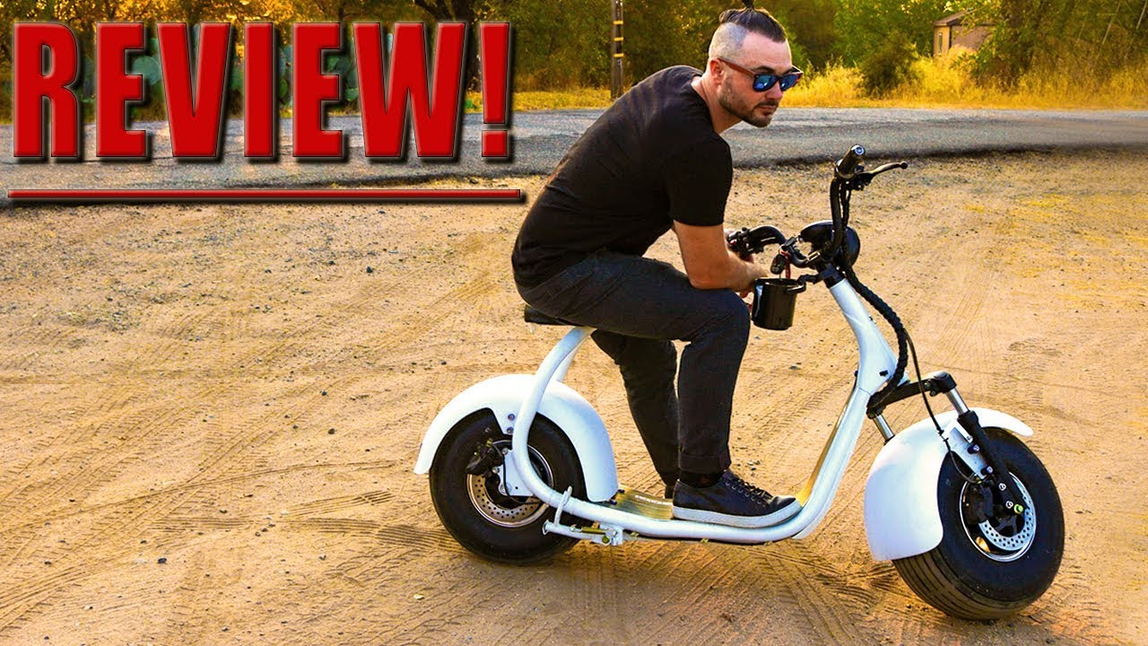 the harley davidson of electric scooters phat scooter. Black Bedroom Furniture Sets. Home Design Ideas