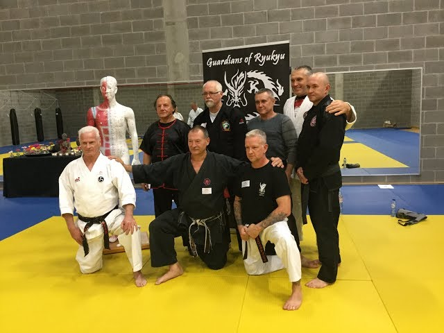 Grandmaster Walter Toch and Students in action GoR 2019 Belgium