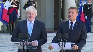 Macron tells Johnson Brexit backstop is indispensable