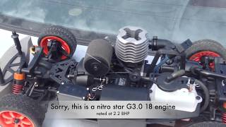 Hpi Nitro Rs4-3 Drift Car First Run After Long Term Storage And Overview.