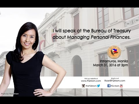 Managing Personal Finances at the Bureau of Treasury