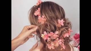 Цветы в волосы