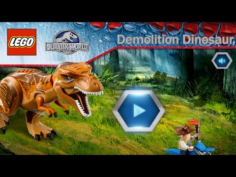 Lego Jurassic World: Demolition Dinosaur – Ridiculous Looking Dinosaurs