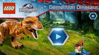 Lego Jurassic World: Demolition Dinosaur - Ridiculous Looking Dinosaurs (Gameplay)