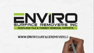 Fast Floor Removal in Calgary-Edmonton-Vancouver - You are left with a Reno-Ready Floor