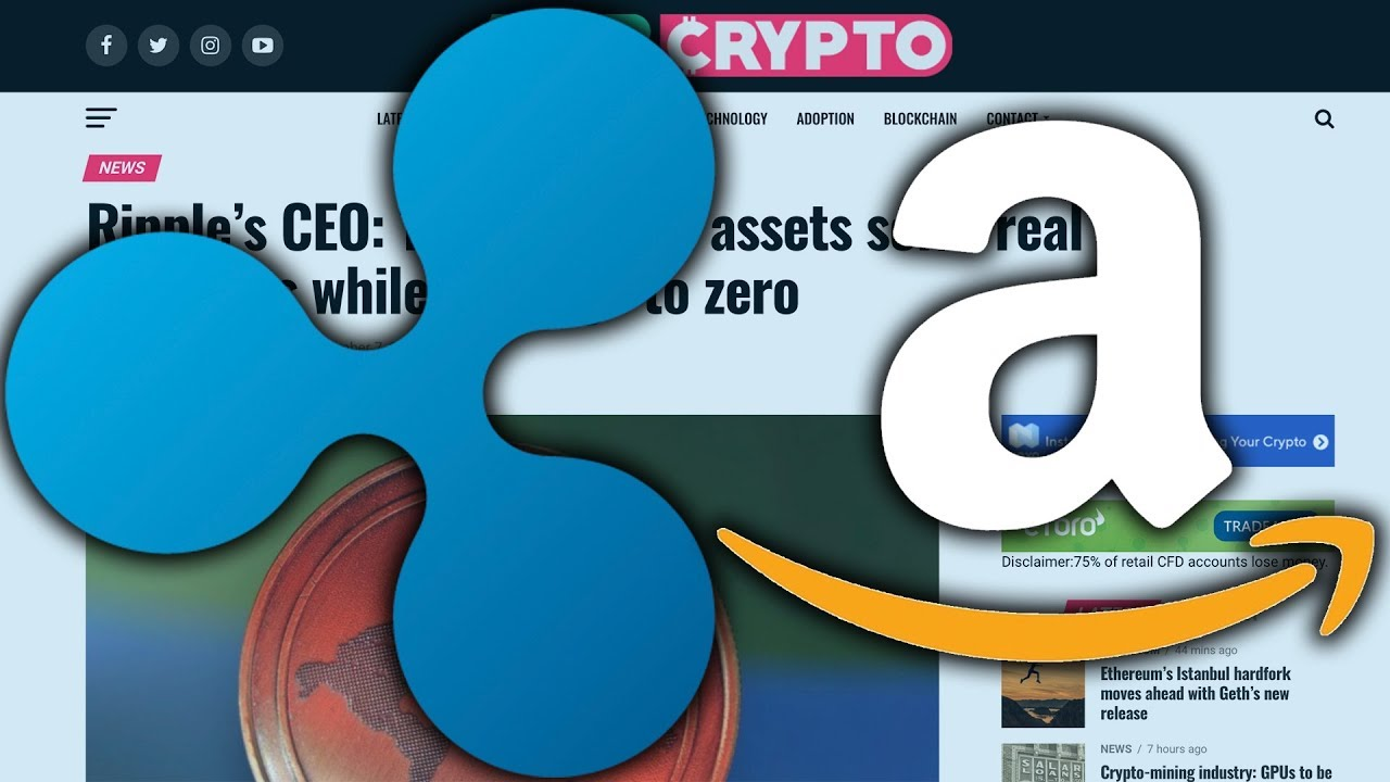 amazon cryptocurrency partnership