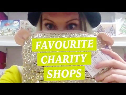 Charity Shop Tour (Ashley Road, Poole) - First EVER vlog!