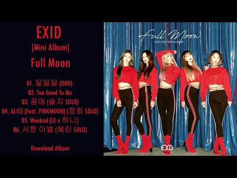 [Mini Album] EXID – Full Moon MP3 DOWNLOAD