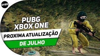 PUBG XBOX ONE: PRÓXIMA ATUALIZAÇÃO DE JULHO