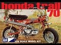MPC 1/8 Honda Trail 70 Mini Bike Model Kit Review
