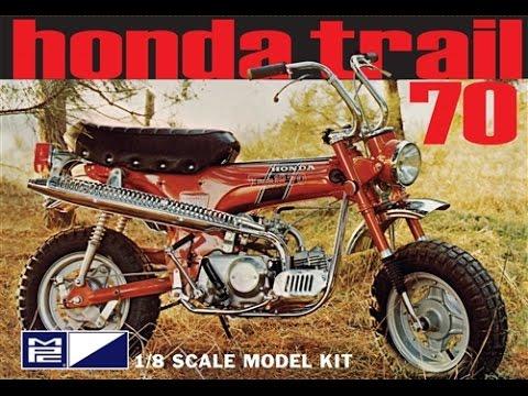Mpc 1  8 Honda Trail 70 Mini Bike Model Kit Review