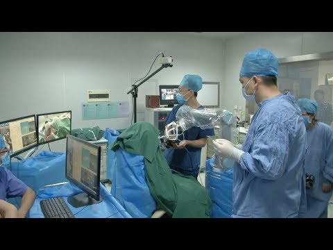 World First Autonomous Dental Implant Robot Put into Use in China