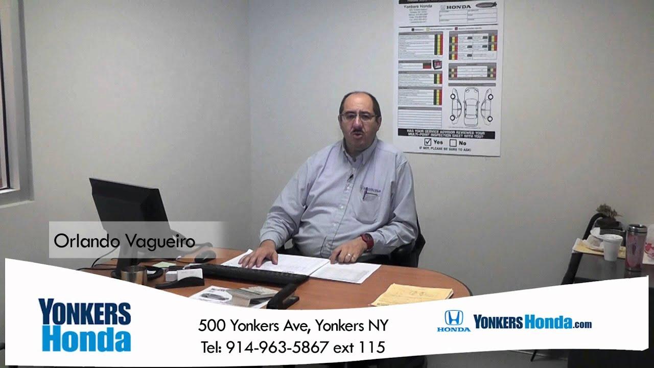 Yonkers Honda Service >> Orlando Vagueiro Yonkers Honda Service 500 Yonkers Ave