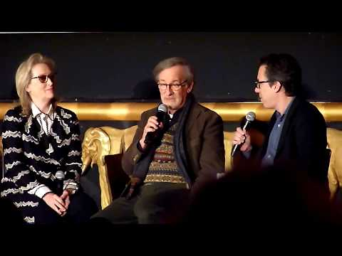 Steven Spielberg ('The Post') on making the film fast: It couldn't wait for 2 years