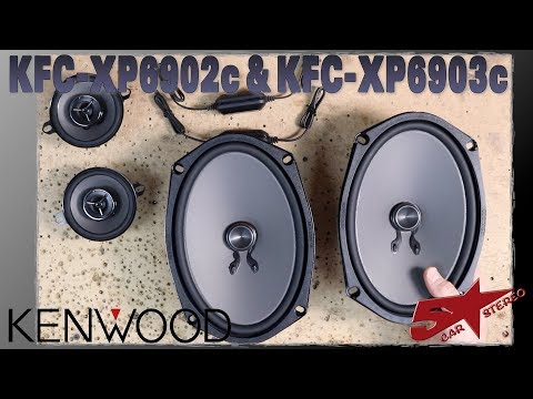 Kenwood Excelon KFC XP6902c and XFC XP6903c unboxing, install, and review
