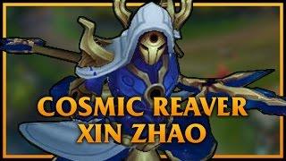 Cosmic Reaver Xin Zhao LoL Custom Skin ShowCase