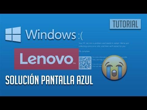Solución Pantalla Azul de Lenovo PC- [5 Soluciones]