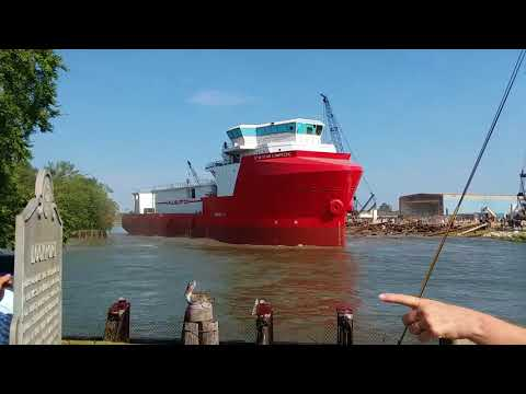 Thoma-Sea Boat Launching  9-28-2017