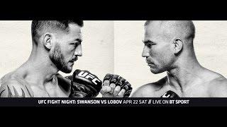 ММА-подкаст: Выпуск №97 - UFC Fight Night 108 - Swanson vs. Lobov