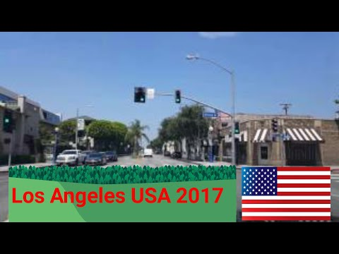 Driving tour: Los Angeles, California, USA.  July, 2017