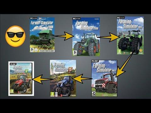 Evolution of farming simulator (pc) #2: like,subscribe,share  Farming simulator 19 -https://youtu.be/ZDRx64LF-Yk  Thankyouforwatching