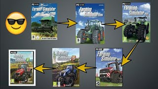 Evolution of farming simulator (pc) #2