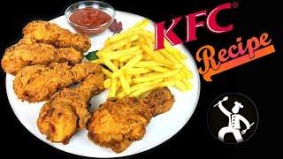 KFC Recipe in Nepali Language - Fried Chicken - Yummy Food World 🍴118