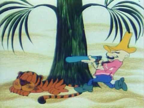 Мультфильм парасолька на охоте