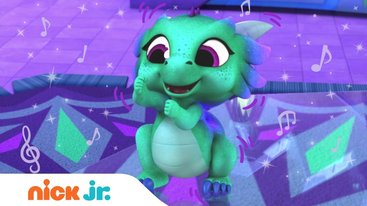 Nazboo Secret Dance Party Video Shimmer and Shine | Nick Jr.