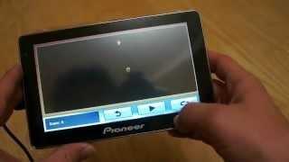 Автомобильный GPS навигатор Pioneer 7