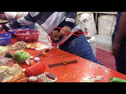Amazing Salad cutter in Bangladesh Trade Fair