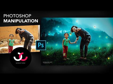 CREATIVE PHOTO MANIPULATION TUTORIAL in 25 Minutes | UCREATIONZ 2019 | UNNIKRISHNAN KJ thumbnail