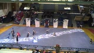 Live Oak Middle School Colorguard in Lafayette 2-17-13 Thumbnail