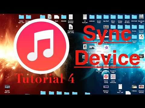 Syncing to iTunes 12 | Tutorial 4