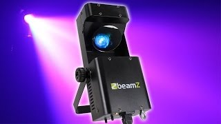 Beamz Wildflower Multi Colour LED GOBO Scanner Disco Light Moving Shape Party DJ Lighting
