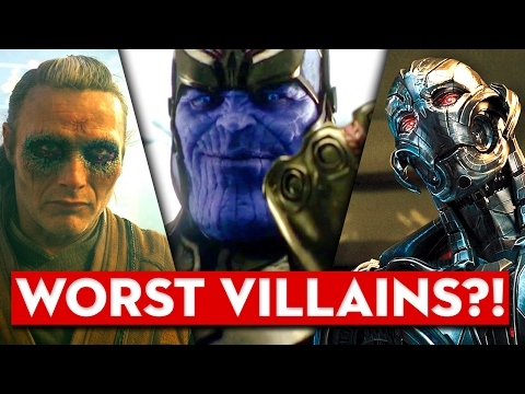 What is Marvel's VILLAIN PROBLEM? And Thanos Infinity War Update!